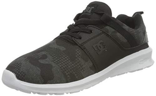 DC Shoes Heathrow, Basket Homme, Black Print, 38 EU