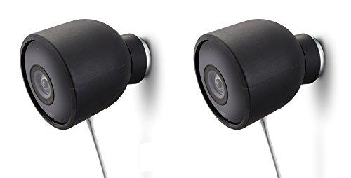 Farbige Silikon Schutzhülle für Nest Cam Outdoor Überwachungskamera - Schützen und tarnen Sie Ihre Nest Cam mit diesen UV-Licht- und witterungsbeständigen Silikon Schutzhüllen von Wasserstein