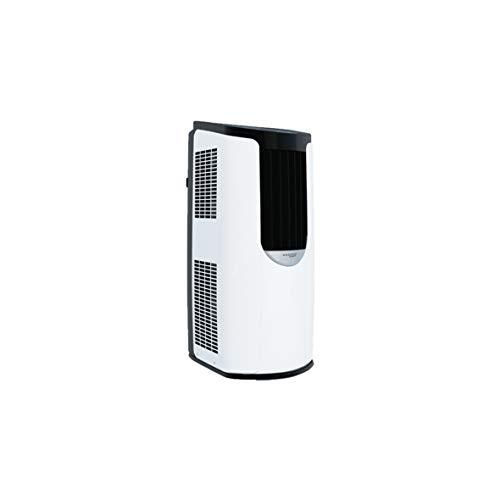 Iris Ohyama 531469 Condizionatore portatile, 3 modalità di ventilazione, funzione sleep e autopulente, timer e telecomando 8 870 BTU/h, 2.6 W, 220 V, bianco