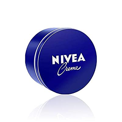 NIVEA Creme (400 ml), Moisturising Skin Cream, Intensively Caring Face Cream, All Purpose Body Cream for the Whole Family
