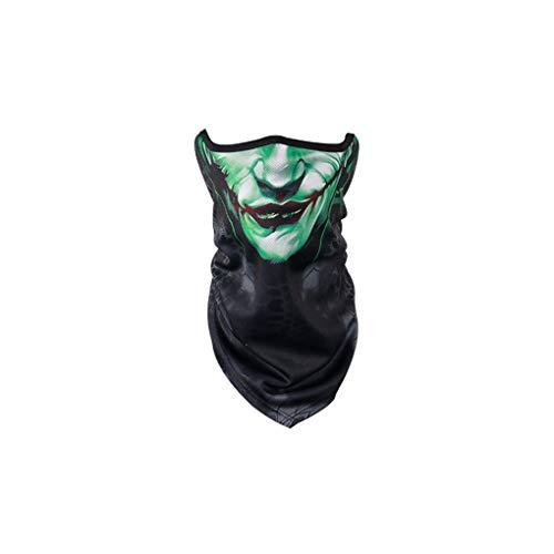 Gezicht handdoek gezicht Motorfiets Dust Sand Preventie Sunscreen Personality Fashion Driehoek Sjaal dunne gedeelte Outdoor Sport en Vrije Tijd,C