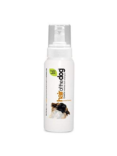 oggy Pets Hair of the Dog Sweet Honey Waterless Foam Shampoo, 250 ml