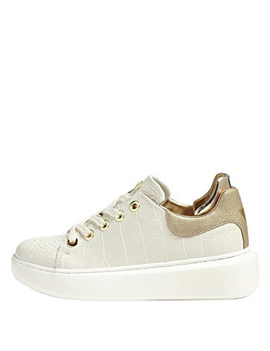 FL5BRAPEL12 Ivory Guess GUESS FOOTWEAR PRE Sneakers Donna 41