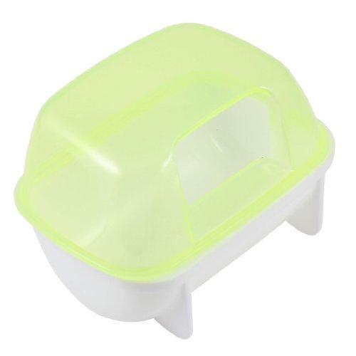 Visork, Toilette per Animali Domestici, Bagno per criceti, Bagno, in plastica, può Essere utilizzato per Il Bagno di criceti, Colore Giallo