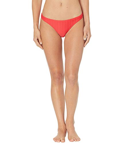 Billabong Women's Standard Tropic Bikini Bottom, Wave Trip Rad Red, S