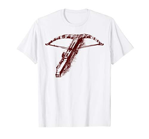 Leonardo da Vinci Armbrust T-Shirt | Arbalist Bogenschießen