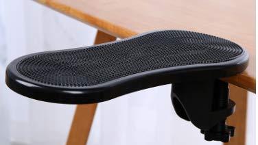 Reposabrazos de para escritorio,Reposamuñecas,Soporte para reposabrazos,Almohadilla de Apoyo para el hogar y la Oficina Funciona Bien con Teclado ergonómico y ratón