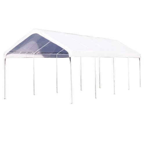 King Canopy Universal White Carport