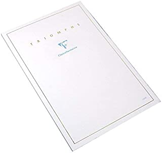 Clairefontaine Blank Writing Paper (5 3/4 x 8 1/4, Extra White)