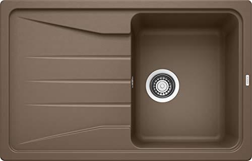 Blanco Sona 45 S, Küchenspüle, Silgranit Puradur, reversibel, muskat; 521921