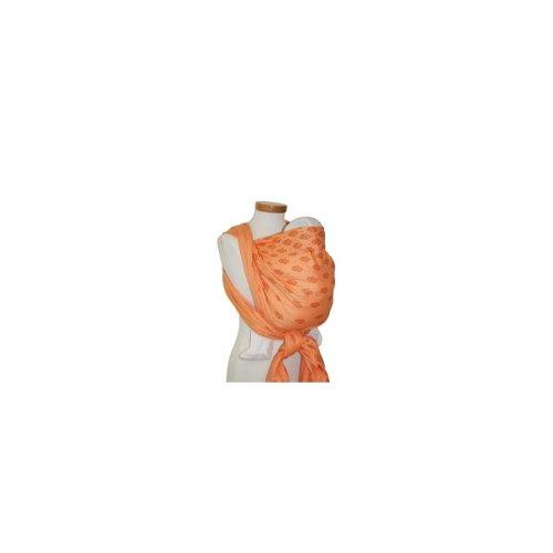 Storchenwiege Tragetuch - Louise Bio apricot (100% kbA-Baumwolle) 5,20m