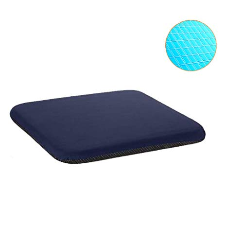 HXGL-Drum Gel Seat Pad Cushion - Orthopedic Wheelchair Seating for Cars, Outdoors, Stadium, Truck, Van, Office - Sitting Pillow