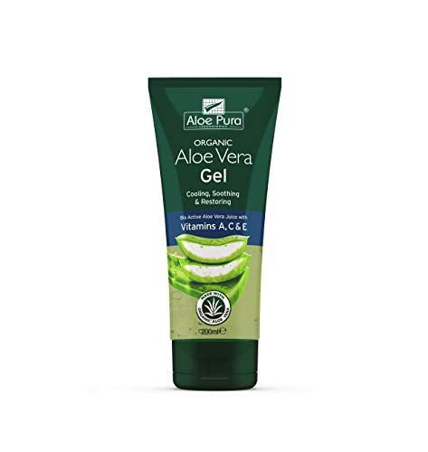 Aloe Pura Aloe Vera Gel & Vitamin A,C & E 200ml