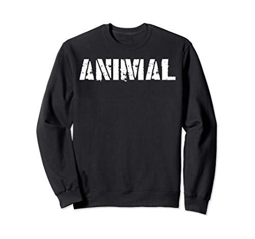 Original ANIMAL Gym Shirt Workout Bodybuilding Lifting Gift Sudadera