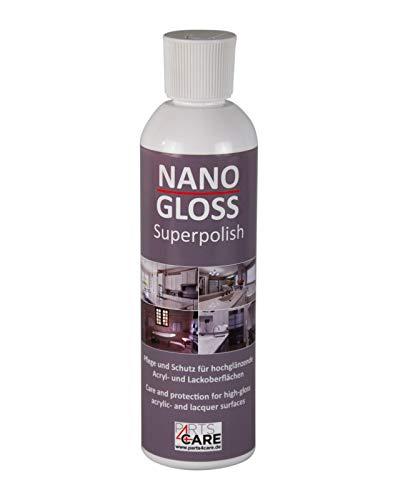 NANO GLOSS Superpolish Küchenpolitur Möbelpolitur Langzeitversiegelung Küchen Politur 250 ml