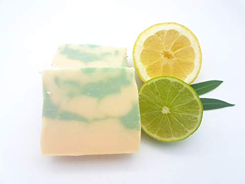 Seife Zitrusfrische, Duschseife, vegan, ohne Palmöl, handgemachte Naturseife von kleine Auszeit Manufaktur