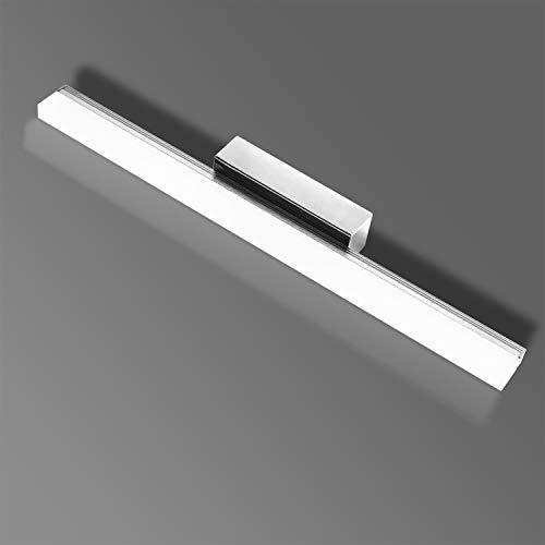 LED Spiegelleuchte 40CM Dimmbar, Badleuchte mit Fernbedienung und Timing und Speicherfunktion 2700K-6000K 10W 1000LM, IP44 Wasserdicht Make-up Light,für Badzimmer, Schminktischen, Schränken