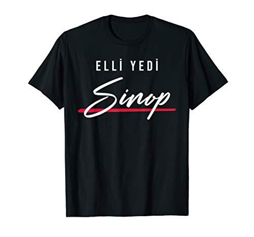57 Sinop Türkei Erfelek Dikmen Saraydüzü Merkez Türkiye T-Shirt