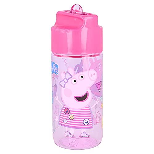 Bottiglia D'acqua In Tritan - Senza BPA - Hidro 430 ml. Peppa Pig