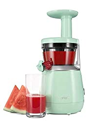 Best Juicer for Ginger: Hurom HP Slow Juicer – Best SPACE SAVING juicer
