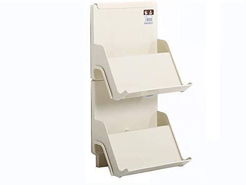Zapatero Creativo DIY Zapatero multicapa, Soporte de plástico apilable simple para pantuflas, Estante de almacenamiento fácil de montar para ahorrar espacio, Zapatero pequeño con acabado en capas