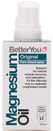 BetterYou, Huile de Magnésium Originale en Vaporisateur - 100 ml (l'emballage peut Varier)