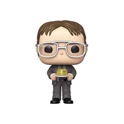 Funko 48498 Pop TV: The Office S2-Dwight con Grapadora Jello Juguete Coleccionable, Multicolor