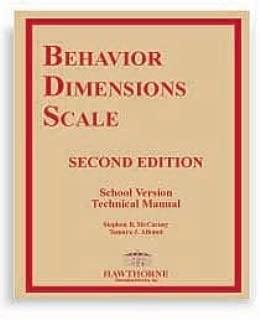 Behavior Dimensions Scale-second Edition (Bds-2) (DSM-IV Criteria) [Paperback]