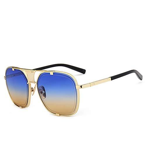 JLC Gafas de Sol Hombre Mujer UV400 Protección Gafas de Sol Polarizadas,F