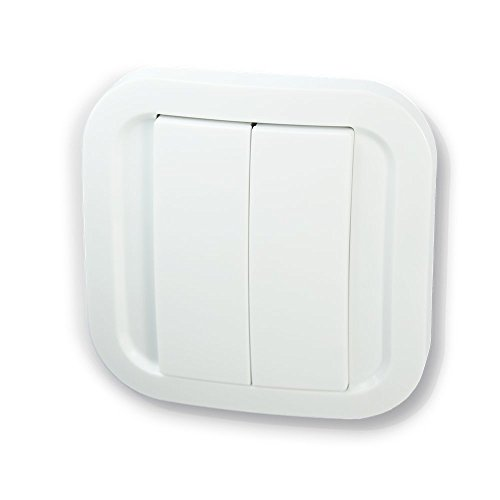 NOD ON Interruttore da parete bianco - Z-Wave Plus