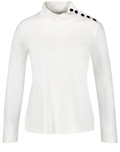Gerry Weber Damen 270247-35047 Sweatshirt, Elfenbein (Off-White 99700), (Herstellergröße: 44)