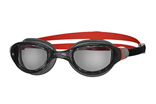 Zoggs Phantom Clear Lenses Quick Adjust Swimming Goggles with UV...