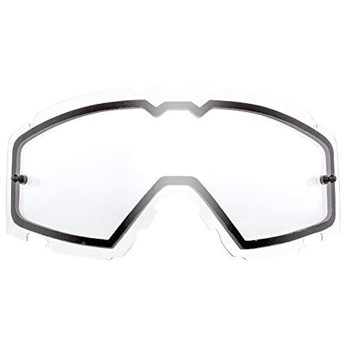 O'NEAL   Motocross-Brillen-Ersatzteile   Motorrad Enduro   Doppel-Linse für maximale Lichtdurchlässigkeit, 1,2 mm Starke Linse mit 100% UV Schutz   B-30 Youth Spare Double Lens   Clear   One Size