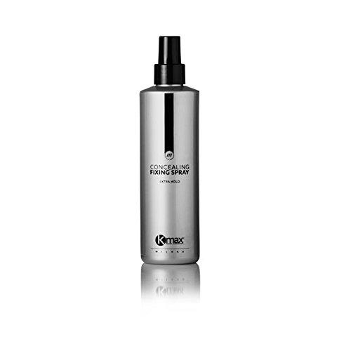 Kmax Fixierspray 250 ml. - Für Fixierung von Haarverdichter, Streuhaar und Haarverdichtung mit Schütthaar