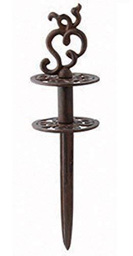 linoows Gartenschlauchführung, Gartenschlauch Umlenkpflock, Antike Kabelführung