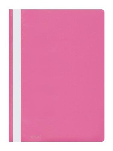 25 Schnellhefter PP Kunststoff Hefter pink
