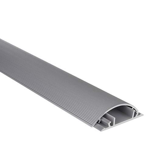 Steren 370-600 Canaleta de Aluminio C/Adhesivo 50 x 13 mm, 1 m