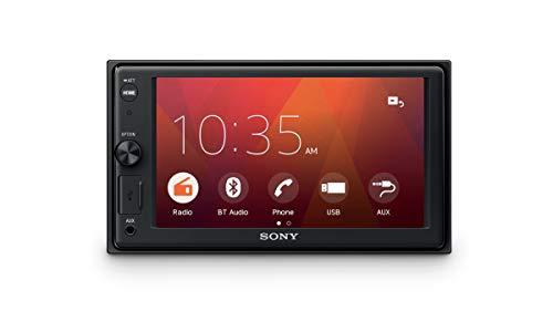 Sony XAV-1550D - Reproductor para Coche (Bluetooth y NFC, Pantalla táctil de 6.2', Dab+, WebLink, cámara con Vista Posterior, Potencia de 55W x 4, Compatible con FLAC)