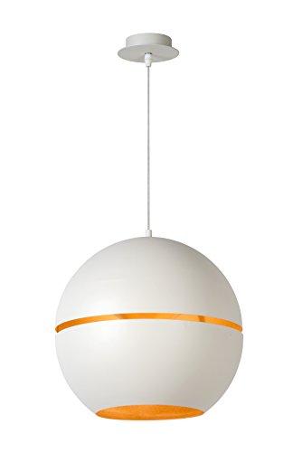 Lucide BINARI - Suspension - Ø 35 cm - Blanc
