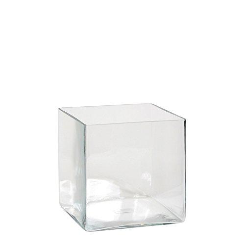 Mica decorations Britt Vase, Glas, Transparent, 20 x 20 x 20 cm