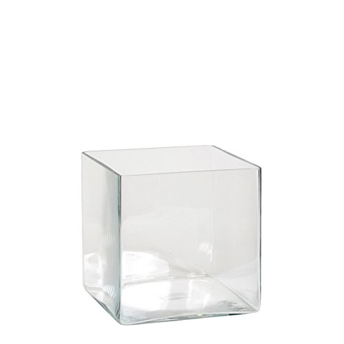 Mica decorations Britt Vase, Glas, Transparent, 20 x 20 x 20 cm