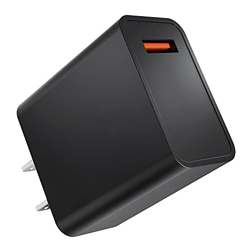 USB 急速充電器 USBポート空調服 バッテリー 給電用 充電アダプタ 3A MAX出力 空調服バッテリー充電器 PSE技術基準適合 iPhone/iPad/Android各種対応 (ブラック)