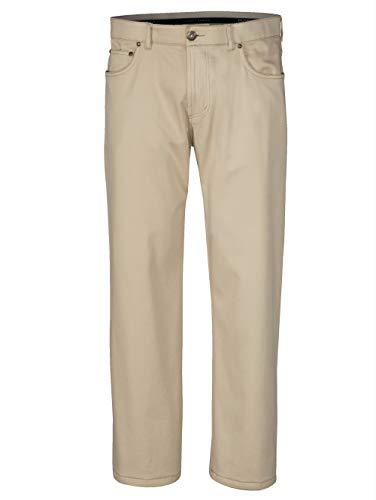 BABISTA Herren-Hose mit Nano Plus Ausrüstung – Freizeit-Hose aus Baumwoll-Mix, Stoff-Hose in Jeans-Optik, Twill-Hose in Beige Gr. 26