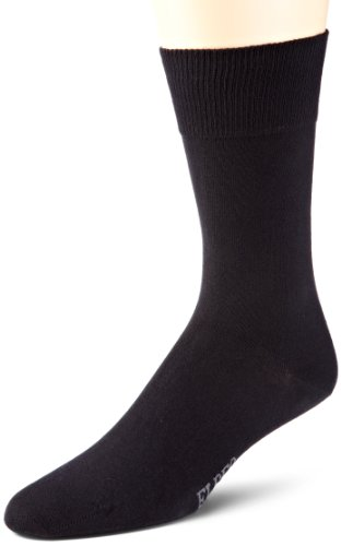 ELBEO Herren Sensitive M Pure Cotton Socken, Schwarz (schwarz 9500), 43-46 (II)