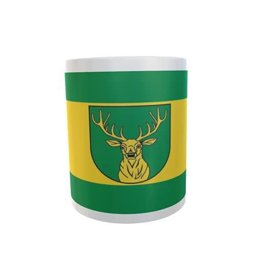 U24 Tasse Kaffeebecher Mug Cup Flagge Gardelegen OT Jävenitz