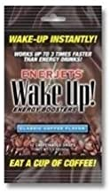 Enerjets Wake Up Energy Booster Drops, Classic Coffee Flavor - 12 Caffeinated Drops/Pack, 12 Packs