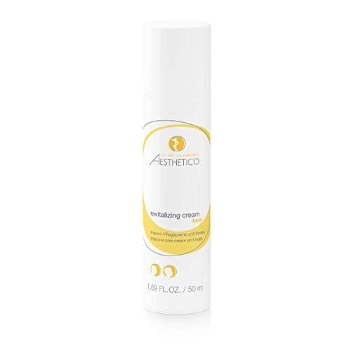 AESTHETICO revitalizing cream - Vitamincreme mit Zellschutzformel, revitalisierende Pflege für trockene und feuchtigkeitsarme Haut, auch als Maske, 50 ml