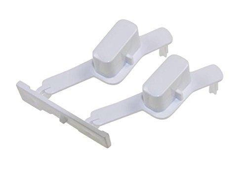 Whirlpool 481071425341 - Botones de arranque y reinicio para lavadora Whirlpool