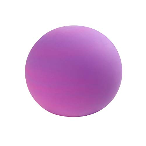 PorLous Purple Stress Ball, Fidget Toy for Adults and Teens, Relieve Anxiety, Squishy Stress Relief Toy for Kids, Creative Colorful Vent Ball Decompression Toy Men and Women Decompression Toy