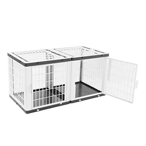 Jaula para Perros de Lujo, Casa para Gatos, Rentable, Robusta con Máxima Durabilidad para el Hogar para Gatos